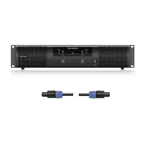 Amazon.com: Behringer NX3000 3000W - Amplificador de ...