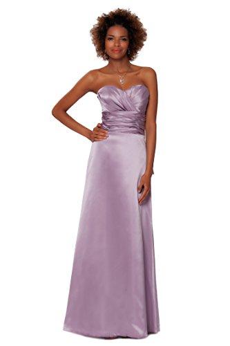 SEXYHER Gorgeous Encuadre de cuerpo entero sin tirantes de las damas de honor vestido de noche formal - EDJ1459 Cardo