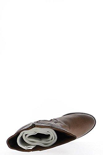 Stiefel Frauen Kamel Ferse 6cm