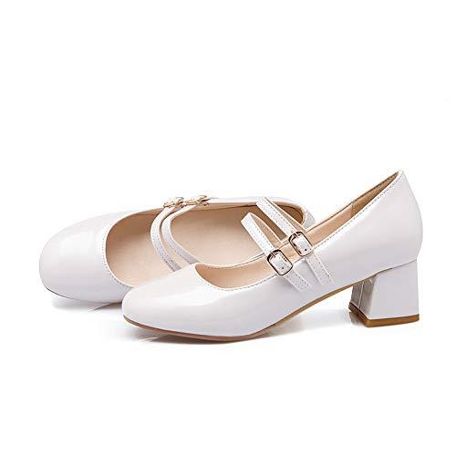 SDC05651 Blanc Compensées AdeeSu Sandales Femme Xwqxa8