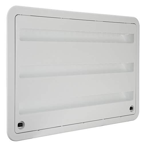 "RV Camper Trailer 24"" inch Dometic Refrigerator Side Wall Vent White 3109350.011"