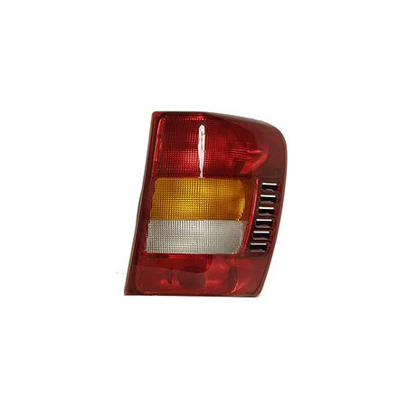 Fits 2002-2004 Jeep Grand Cherokee Tail Light Passenger Side Unit CH2801150 ()