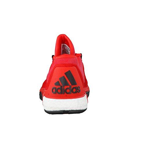 adidas 2015 Crazy Light Boost Scarpa da Basket Uomo Prime Knit, Rosso (Vivid Red s13/power Red/Scarlet), 53 1/3