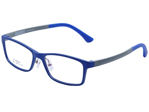 De Ding Children's Lightweight Optical Glasses Frame with Silicon nose pads (blue, clear) - 130 Mm Eyeglasses
