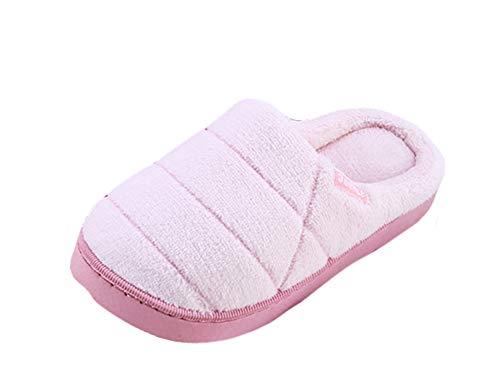 Confort Antidérapantes Maison Femmes Coton En Pantoufle Rose Hiver Icegrey wTvaOqx