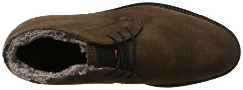 Boots Dark Brown Orange 10201446 Marrone BOSS Tuned Stivali Uomo sdfur 01 desb Desert 8F4fq