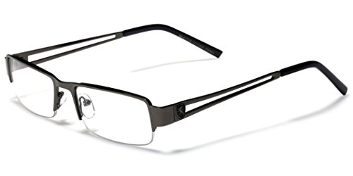 Small Rectangular Frame Clear Lens Designer Sunglasses RX Optical Eye - Rectangular Frames