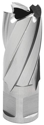 Hougen 12126 13/16 Inch Diameter x 1 Inch Depth of Cut 12,000 Series High Speed Steel Annular Cutter 3/4 Inch Weldon Shank for Magnetic Drills