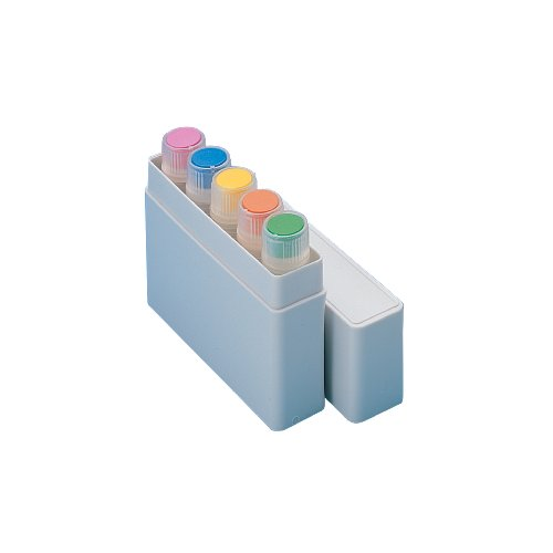 Nunc HIPS MiniBoxes for CryoTubes, Can hold 5 vial, 1.0ml - 1.8ml Capacity (Case of 350) by Nalgene