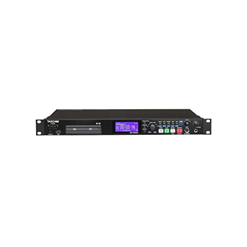 | XLR RCA Input Output 1RU Chassis MP3 WAV CF SD SDHC USB Solid State Digital Audio Recorder - Tascam SS-R200
