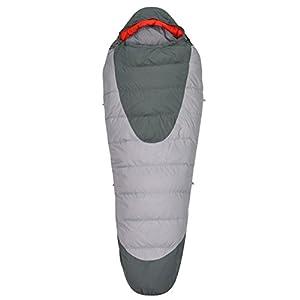 Kelty Cosmic 40 Degree Sleeping Bag, Regular, Smoke/Dark Shadow
