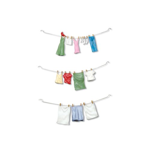 Department 56 Snow Village Hung Out to Dry Accessory Figurine (Set of -