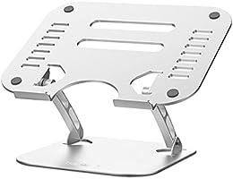 TAWARON 進化版 ノートパソコンスタンド PCスタンド タブレットスタンド 折りたたみ式 人間工学設計 最大耐荷重25kg 無段階高さ調整可能 姿勢改善 滑り 止め 軽量 アルミ合金製 優れな放熱性 Macbook...