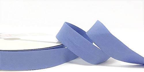 dehnbar 18 mm 3 m L/änge Byetsa Schr/ägband 3/% Elastin // 97/% Baumwolle von Einer Rolle geschnitten und auf Einer Karte von Bertie s Bows