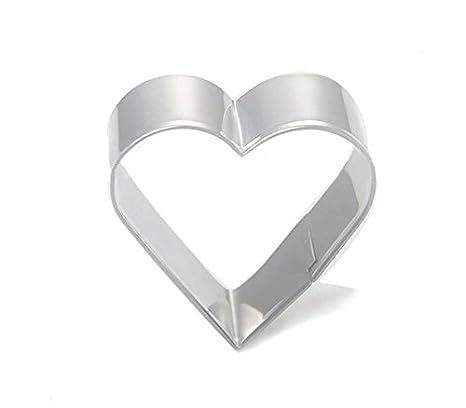dreamflying forma de corazón cortador de galletas, de acero inoxidable: Amazon.es: Hogar