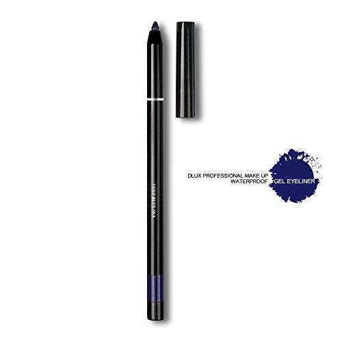 DLUX PROFESSIONAL EYELASH GEL LINER/Eyeliner/The best NO.1 brand in the world/Gel Type/Pencil Eyeliner/Easy to Control/Drew line/Made in Korea (Deep Blue Sea)
