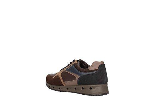 IGI&CO Ulsgt 8747, Sneaker a Collo Basso Uomo T.moro7fango/Blu