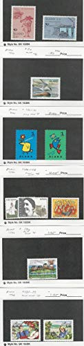 Aland, Postage Stamp, 73//139 Mint NH, 1993-99