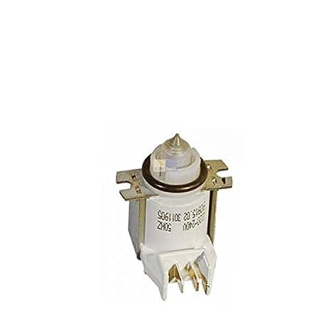 Válvula para depósito de sal 00166875 166875 Bosch, Siemens, Neff ...