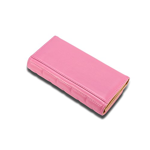 MOEDECAT - Cartera de mano de Material Sintético para mujer rosa