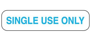 Divine Medical Single Use Only Labels -