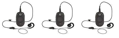 3 Pack of Motorola CLP1040 On-Site Two-Way Business Radio 4 Channel 1 Watt 90 UHF Frequencies by Motorola