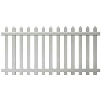 Amazon Com 4 Ft X 8 Ft Glendale Spaced Picket Vinyl