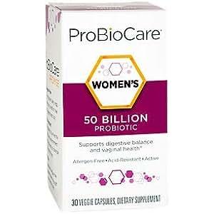 Amazon Com Probiocare Women S Probiotic 50 Billion