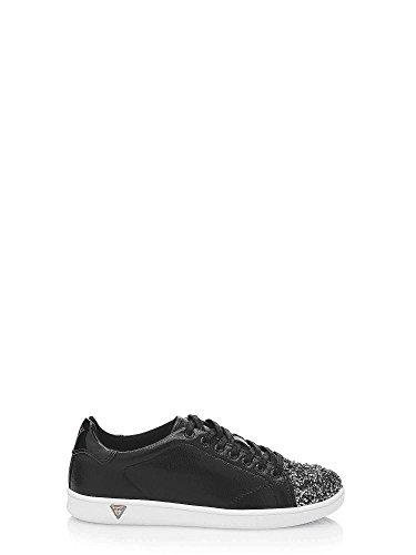 Denk Dames Super Sneakers Zwart