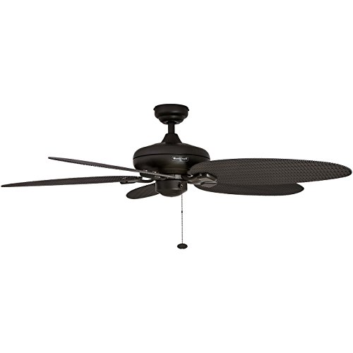 Ceiling Fan Tropical Blades: Honeywell Honeywell Duvall 52-Inch Tropical Ceiling Fan