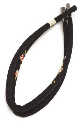 帯締め 桜 刺繍