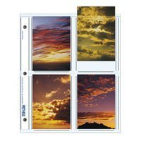 - Print File Archival Photo Pages Holds Eight 3.5