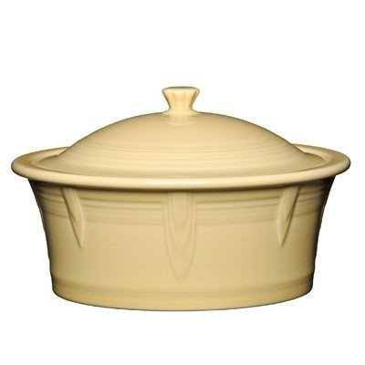 (Homer Laughlin 330-1466 Covered Casserole Ivory)