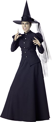InCharacter Women's Witch Costume, X-Large - Wicked Witch Costume Amazon