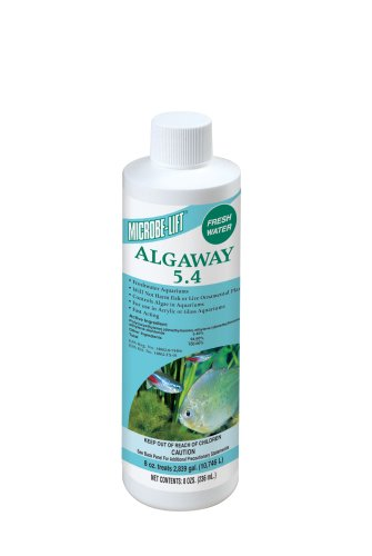 Microbe-Lift Algaway 5.4 Algae Control for Fresh Water Home Aquariums, 8-Ounce Algaway 5.4 Control