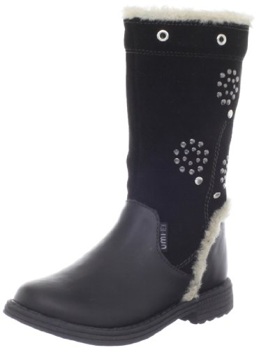 umi (Infant/Toddler) Chaarmy Waterproof Boot,Black,27 EU/10 M US ()
