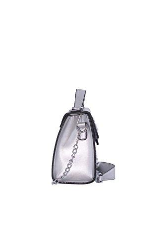 P Cartera j55002 Mujer Size Silber De Plateado art One Abbino 2000000141657 Bolso Para Estilo Sintético tw4HP7Bq