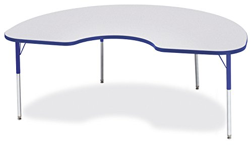 Berries 6423JCA003 Kidney Activity Table, A-Height, 48