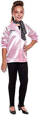 Disfraz Pink Baby Chaqueta Pantalón Pañuelo Niña Carnaval Década ...