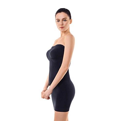 efffc6755e3e6 hot sale 2017 MD Women s Shapewear Strapless Firm Tummy Control Full Length  Slip Body Shaper