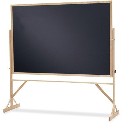 Double Chalkboard Sided Reversible (QRTWTR406810 - Quartet Rolling Reversible Chalkboard)