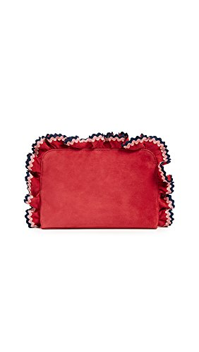 Loeffler Randall Women's Attache Wristlet, Bright Red/Multi, One Size by Loeffler Randall