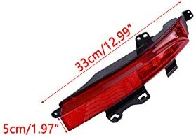 Eastar ABS Right Side Rear Bumper Reflector Lamp Light Fit for Land Rover Discovery Sport 2015-2019