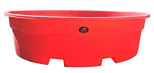 High Country Plastics 700 gallon Water Tank, Red