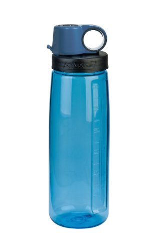 NALGENE Tritan OTG BPA-Free Water Bottle,Slate Blue, 24 Ounce,24 Ounces