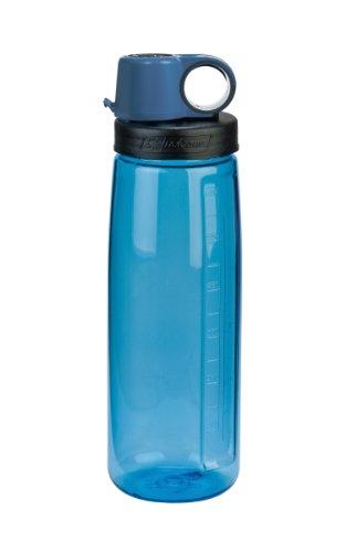 Nalgene Tritan OTG BPA-Free Water Bottle,Slate Blue, 24 Ounce,24 Ounces