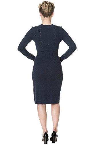 by Dancing 5174 Daydream Blue Strickkleid Marine Days Banned Dress qFRCngwgE