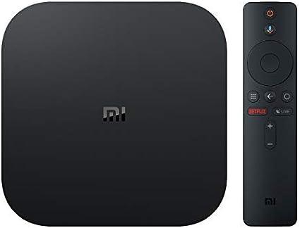 Oferta amazon: Xiaomi MI TV BOX S - Reproductor streaming en 4K Ultra HD, Bluetooth, Wi-Fi, Asistente de Google con Chromecast, Negro