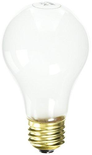 Frosted Medium A19 Base (Satco S5011 12-Volt 50-Watt A19 Medium Base Light Bulb, Frosted)