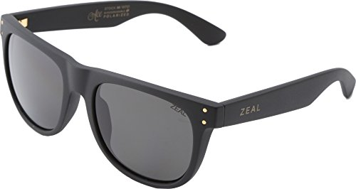 Zeal Optics Unisex Ace Black Gold W / Dark Grey Polarized Lens One Size by Zeal